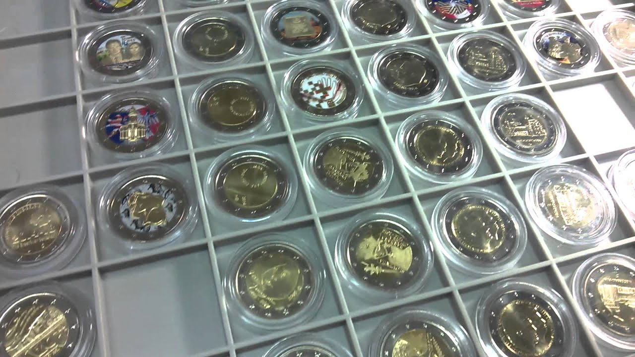 2 euros coins commemorative 2 youtube. Black Bedroom Furniture Sets. Home Design Ideas