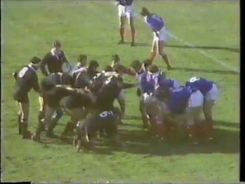 1987 Rugby World Cup Final - NZL v FRA