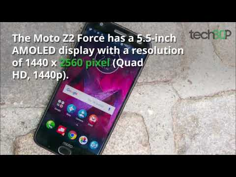 Moto Z2 Force First Look: Shatterproof goodness with bundled battery mod