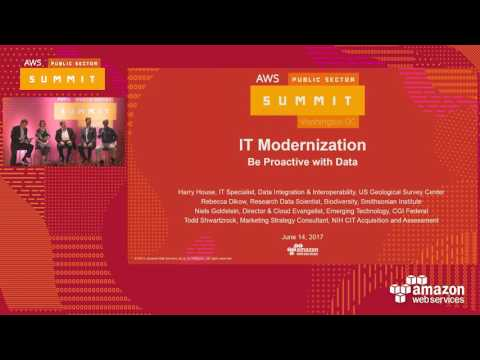 IT Modernization – Be Proactive with Data (126446)