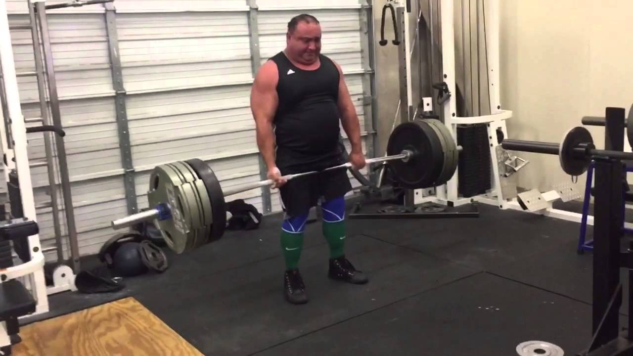 Havoc powerlifting deadlift