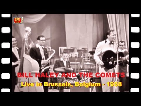 Bill Haley & The Comets - Live at the Royal Flemish Theatre - Brussels, Belgium (1958) full concert Mp3