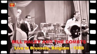 BILL HALEY & His Comets - Live at the Royal Flemish Theatre - Brussels, Belgium (1958) full concert