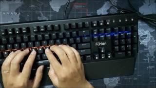Review Siêu bàn phím cơ Fuhlen Destroyer (Fuhlen D) giá sốc 950k led 7 màu tặng bàn di chuột 100k