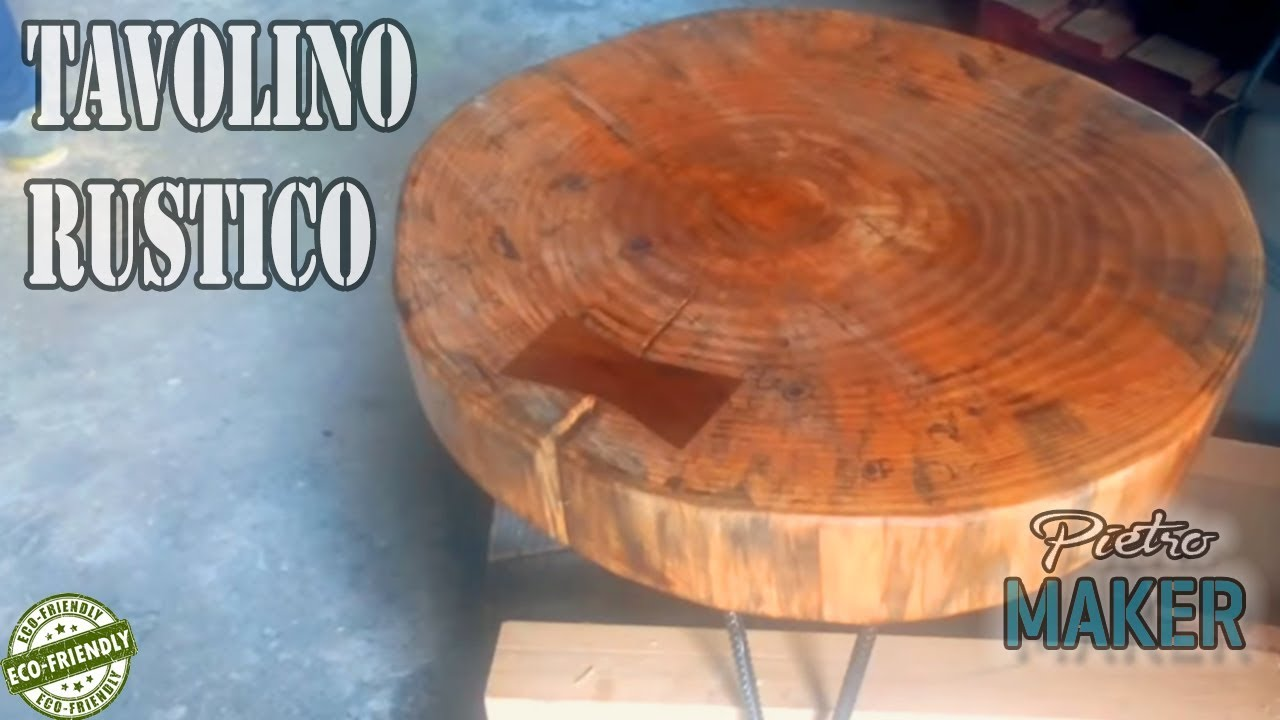 Ceppo Di Legno Tavolino 🔴 diy - hairpin legs coffee table diy