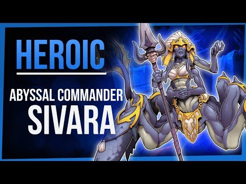 ABYSSAL COMMANDER SIVARA | Heroic Eternal Palace | WoW Battle For Azeroth 8.2 | FinalBossTV