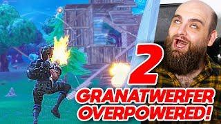 ES HAGELT GRANATEN! (2x GRANATWERFER OP!)   Fortnite