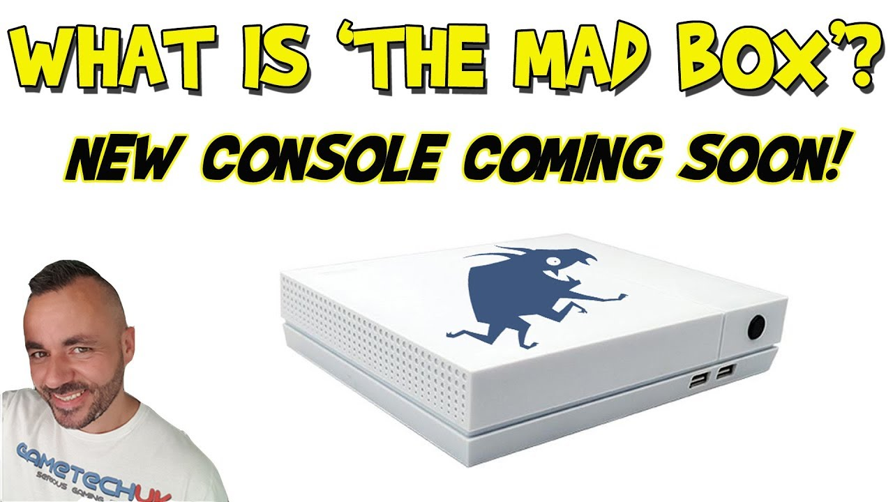 GAMING NEWS | New console coming soon  | What is The Mad Box?