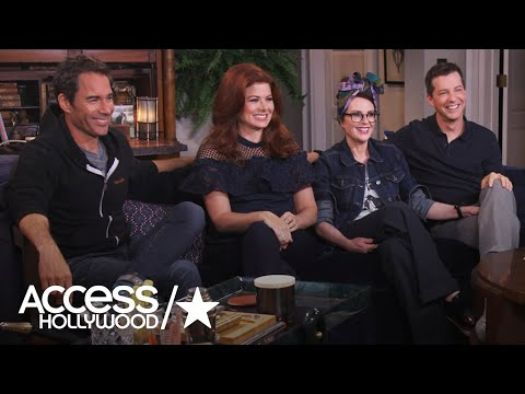 'Will & Grace': Natalie Morales Hits The Set With The Cast | Access Hollywood