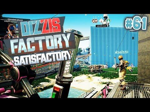 SATISFACTORY DURCHGESPIELT? | Dizzis Factory #61 | izzi & Dner