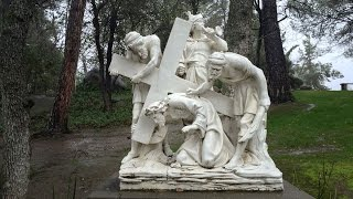 Stations of the Cross - Third Station: Jesus falls the first time HD