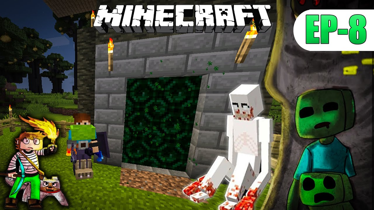 MINECRAFT But the Dimension new UPDATES + Monster's हिंदी 4x4gaming Ep-8