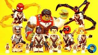 Avengers Endgame Set 14 Black Panther Venom Deadpool Ant-Man Dr. Strange Unofficial LEGO Minifigures