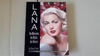 Unboxing the book: Lana the Memories, the Myths, the Movies by Cheryl Crane