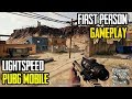 PUBG Mobile First Person Gameplay Lightspeed FPP Mode | Chicken Dinner