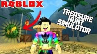 ROBLOX-I bought the 800 Robux backpack (TREASURE HUNT SIMULATOR)