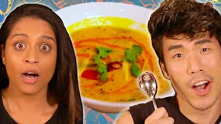 Download The Try Guys $850 Indian Food Challenge ft. Lilly Singh Mp3 and Videos