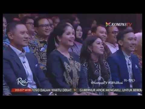 Rosi dan Keluarga SBY Presiden ke-6 Republik Indonesia #SBYdiRosi