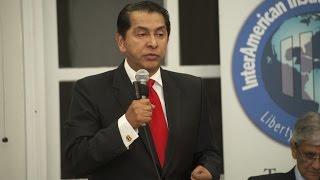 Lucio Gutiérrez - Conferencia «La reelección indefinida en el Ecuador»