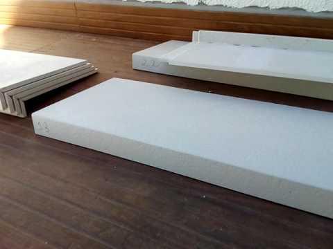 Bordas para piscinas feita de porcelanato youtube for Piscinas semienterradas