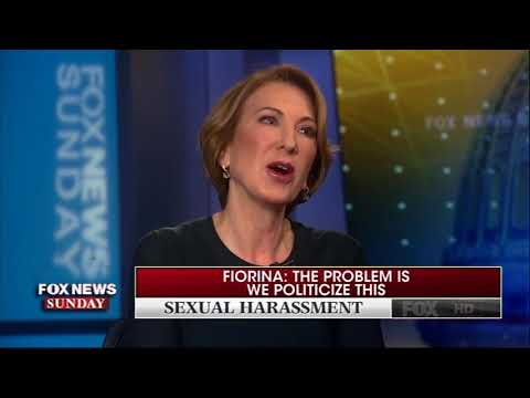 Carly Fiorina Calls Out Roger Ailes' Sexual Harassment During Fox News Interview