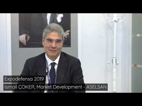 Expodefensa 2019 - Aselsan Interview smail Çoker