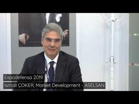 Expodefensa 2019 - Aselsan Interview smail Çoker