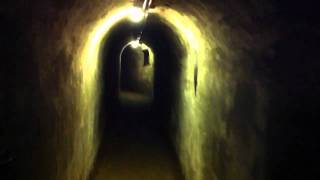 inside the Fort Nepean underground tunnels