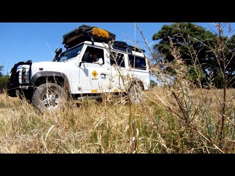 A Land Rover expedition in Botswana