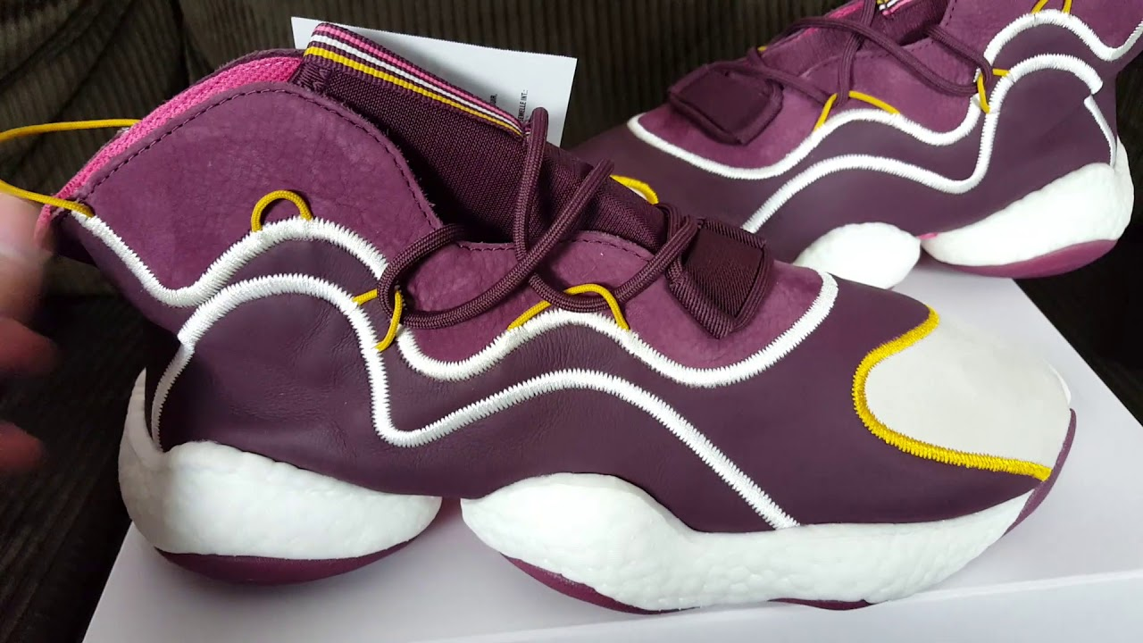 a3973d9514936 Best BYW  Adidas Crazy BYW x Eric Emanuel Maroon Review!!! - YouTube