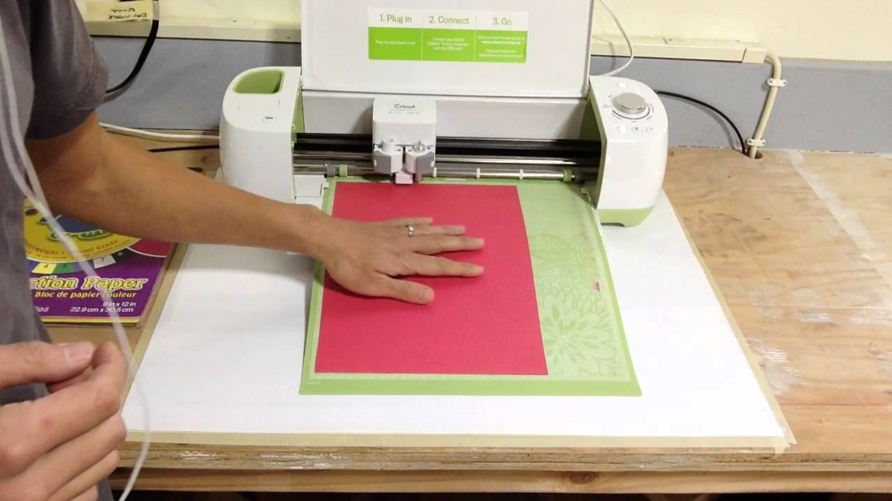 How To Use A Cricut Paper Cutter Youtube