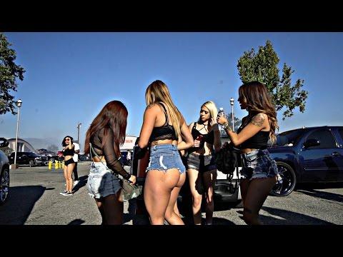 Women Love Trucks and Burnouts! - California Truck Invasion 2017