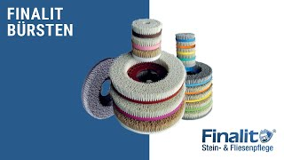 Finalit Bürsten: Polieren auf Seidenglanz - Hartgestein
