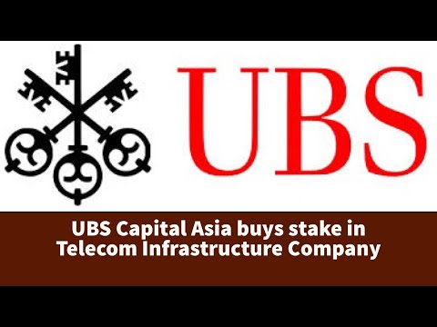 UBS Capital Asia buys stake in Telecom Infrastructure Company