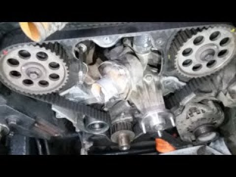 2000 Nissan Frontier Timing Belt Replacement Vg33 3 3l V6 Youtube