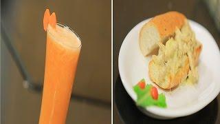 سندوتش دجاج بالصوص الابيض - عصير برتقال بالجنزبيل | سندوتش وحاجة ساقعة حلقة كاملة