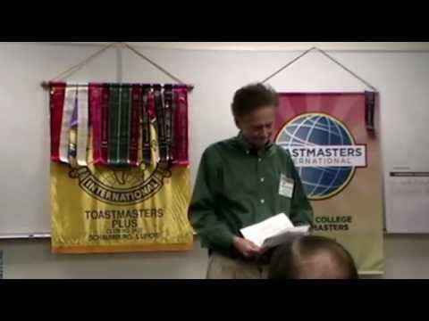 Toastmasters Open House at Harper Community College in Fall 2012