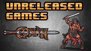 Unreleased Games | Conan  [Jaguar]