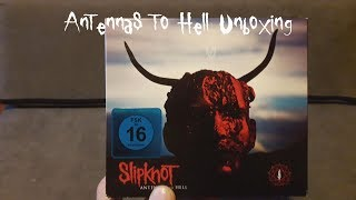 Slipknot - Antennas To Hell Unboxing [With Dog! XD]