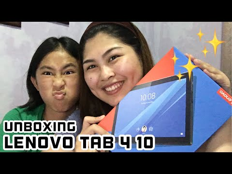 UNBOXING MY LENOVO TAB 4 10 | Philippines