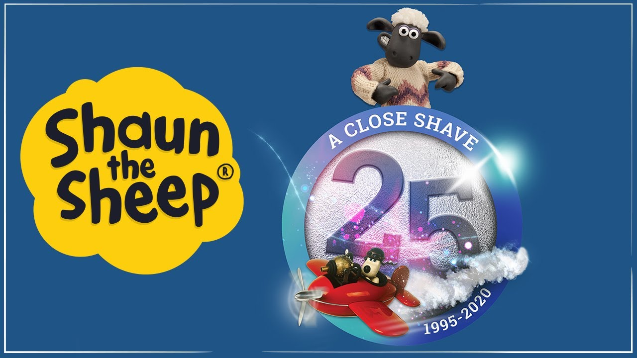 Shaun's 25th Anniversary since Wallace & Gromit's A Close Shave