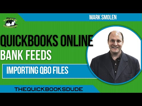 Importing QBO Files To Quickbooks Online Bank Feeds