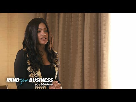 Mehgan James Stumbles Through Her Investor Pitch | Mind Your Business with Mahisha | OWN