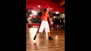 Simrin Player dancing to Brooklyn Jai choreo