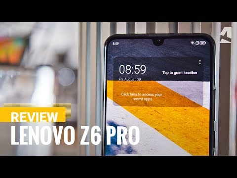 Lenovo Z6 Pro review - GSMArena com tests
