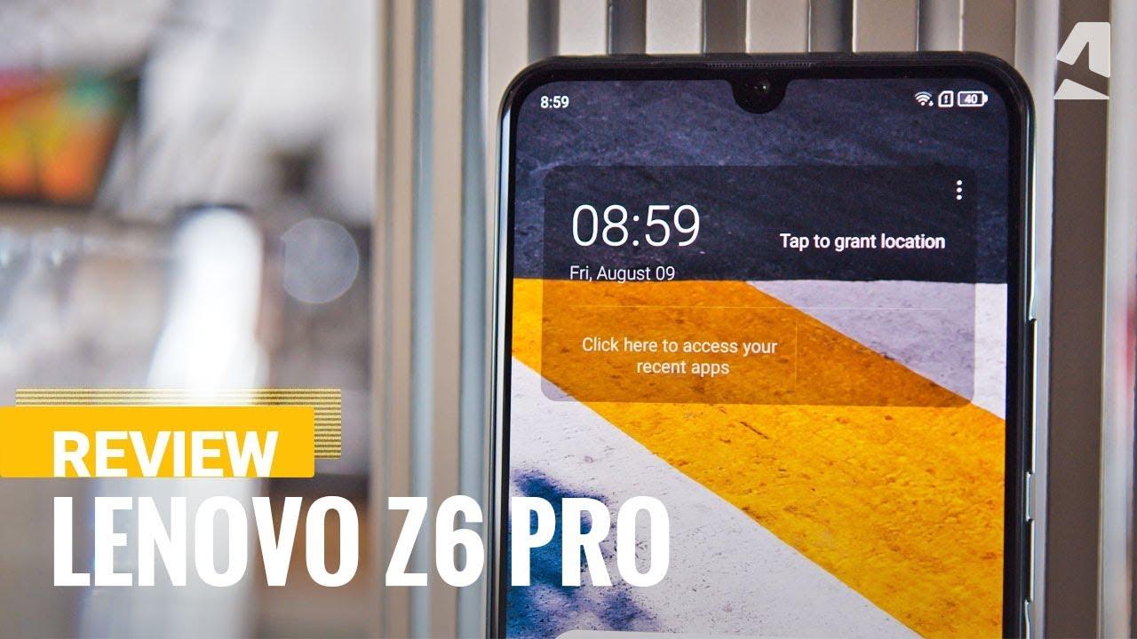 Lenovo Z6 Pro - Full phone specifications