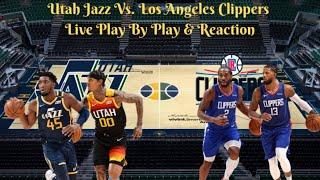 Los angeles clippers vs. utah jazz ...