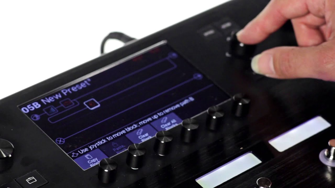 line 6 helix multi effects guitar pedal youtube
