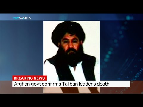Afghan government confirms Taliban leader's death