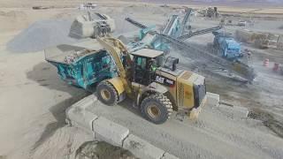 Rock Quarry Crushing Operations HD